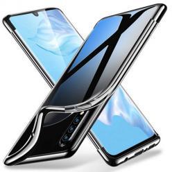Etui na Xiaomi Mi A3 - platynowane SLIM - Czarny