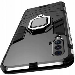 Etui na Huawei Nova 5T - pancerne - Czarny.