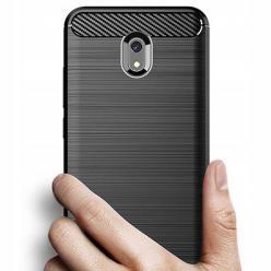 Etui na Xiaomi Redmi 8A - bumper Neo CARBON - Czarny.