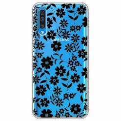 Etui na Samsung Galaxy A30s - Polne stokrotki nocą.