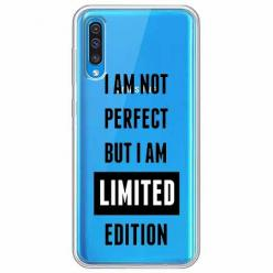 Etui na Samsung Galaxy A30s - I Am not perfect…