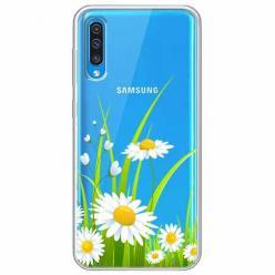 Etui na Samsung Galaxy A30s - Polne stokrotki.