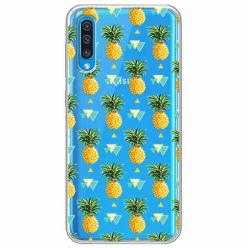 Etui na Samsung Galaxy A30s - Ananasowe szaleństwo.