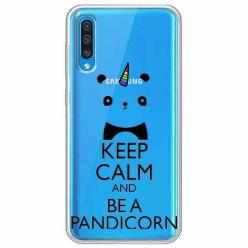 Etui na Samsung Galaxy A30s - Keep Calm… Pandicorn.