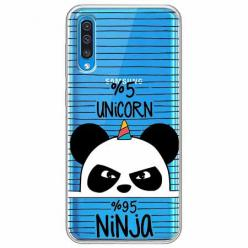 Etui na Samsung Galaxy A30s - Ninja Unicorn - Jednorożec.