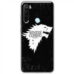 Etui na Xiaomi Redmi Note 8T - Winter is coming White
