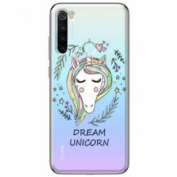 Etui na Xiaomi Redmi Note 8T - Dream unicorn - Jednorożec.