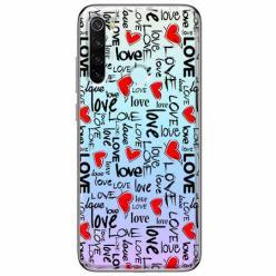 Etui na Xiaomi Redmi Note 8T - Love, love, love…